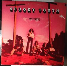 SPOOKY TOOTH Witness 1973 Pink ISLAND ORIGINAL LP