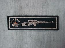 Russian Special Forses Spetsnaz Sniper SVD Dragunov Woven Patch Sew On