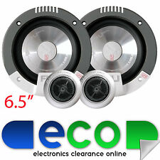 "Fli COMP 6 255 Watts 6.5"" 17cm Front or Rear Door Car Van Component Speakers"