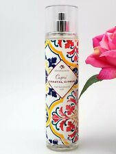 Bath and Body Works CAPRI COASTAL CITRUS Fine Fragrance Mist Spray 8 FL OZ