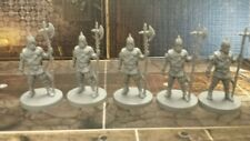 Lot of five (5) Bossonian Guards miniature Conan Board Game NEW! Monolith 28mm