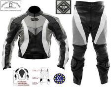 Combinaisons de motocyclette grises pour homme