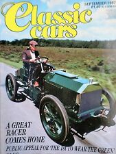 Classic Cars September 1987 TR6, MGB GT, E-type, Edward VIII's Buick