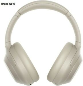 Sony WH-1000XM4 Wireless Bluetooth Noise Cancelling Over-Ear Headphones - Silver