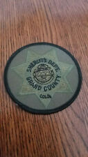 > Old GRAND County Sheriff Colorado Patch SWAT Hot Sulphur Springs Special Ops <