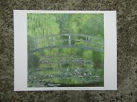 Vintage print - The waterlily pond - Caude monet - For framing - classic art
