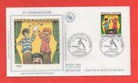 FDC Enero 1988 - Comunicación Por La Tira Comics Francesa - Fred (634)