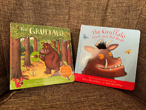 The Gruffalo Touch and Feel Book by Julia Donaldson And Push Pull And Slide