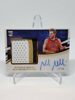 2019-20 Immaculate Nicolo Melli Rookie *JUMBO PATCH* Auto /49 Pelicans RPA