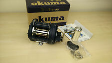 Okuma Titus T 30 Single Speed Trolling Big Game Saltwater Fishing Reel-New
