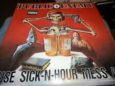 "Public Enemy - Muse Sick-N-Hour Mess Age Album, gat USED 2x12"" 1994 Def jam"