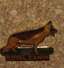 D16 PIN PINBACK ANIMAL CHIEN DOG PATOU NO10 ROYAL CANIN RARE BERGER ALLEMAND