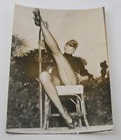 PAUL POPPER vintage Photo Foto Most beautiful legs Paris 1959 Silbergelatine