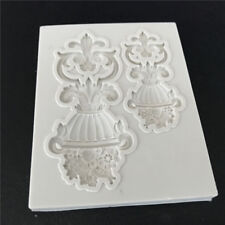 Flower Lace Cookie Fondant Mould Cake Decorating Tool Cutter Stencil Mold DIY