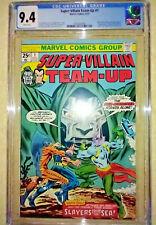 SUPER-VILLAIN TEAM-UP #1 (1975) - CGC 9.4 NM WHITE PAGES - BRONZE AGE KEY