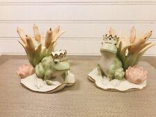 Lenox Prince Jewel Frog Candlesticks set Of (2)