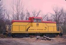 Kodak Original Slide  Porter 80 Ton   Atlantic & Western  ATW #101  1973  NC SOU