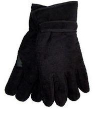 Men's 3m Thinsulate Insulated Winter Black L / XL Polar Fleece Thermal Gloves