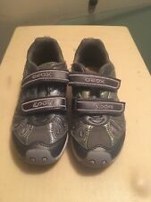 Geox sport girls shoes .gray size us 10.5 eur 28