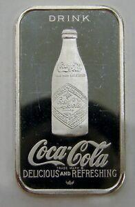 Louisville, KY - Coca Cola 75th Anniversary - 1 oz. .999 Silver Art Bar