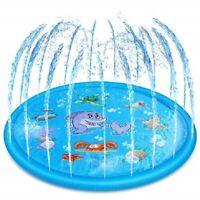 Jeu d'eau été pour enfants jouet rafraichissant fontaine arroseur tapis 170CM FR