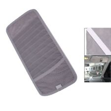 Grey Car Sun Visor 12 Disc CD DVD Card Case Wallet Storage Holder Organizer A L2
