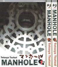 MANHOLE 1/3 serie completa di T.Tsutsui ed.JPOP