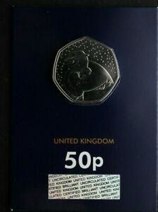 2020 SNOWMAN BU UNCIRCULATED 50P FIFTY PENCE - OFFICIAL UK ISSUE