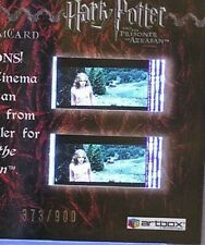 Harry Potter-Emma Watson-Hermione Granger-POA-Authentic-Relic-Movie-Film Card