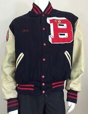 Holloway Original College Jacket Blackburn Varsity Men's XL Blue Red