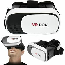 3D VR BOX VIRTUAL REALITY GLASSES GOGGLES HELMET HEADSET 3D GOGGLES SMART PHONES