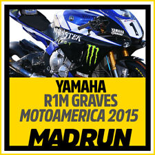Kit Adesivi Yamaha R1 - R1M Team Graves Motoamerica 2015 - High Quality Decals