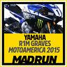 Kit Adesivi Yamaha R1 - R1M Team Graves Motoamerica 2015 - High Quality Decals