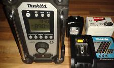 Makita Akku-Baustellenradio DMR 107 + Netzteil + 1 x Akku 1850B + DC18RC - neu