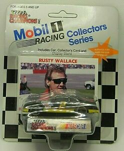 1991 RACING CHAMPIONS NASCAR Mobil 1 Collectors Series #2 Rusty Wallace NEW