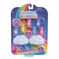Care Bears Squishems 8 Figure Pack New