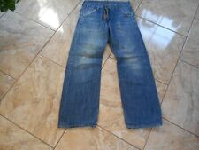 H8174 G-Star S.C.A Bandtop Jeans W30 L32 Mittelblau ohne Muster Gut