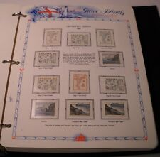 Faroe Islands MNH Collection COMPLETE 1975-1998 in 2-Vol White Ace Album (S259)