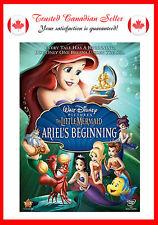 The Little Mermaid - Ariel's Beginning (DVD, 2008)