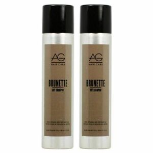 2 PACK!!! AG HAIR CARE BRUNETTE DRY SHAMPOO SPRAY 4.2 OZ REFRESHER ROOT TOUCH UP