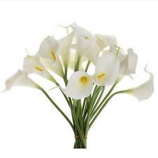 10pcs Mini Artificial Calla Lily Wedding Flowers Bouquet Calla lily Foam Decor