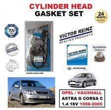 victor reinz Set Joint de culasse pour Opel ASTRA G CORSA C 1.4 16V 1998-2009