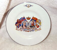 "EMPIRE WARE 1935 Silver Jubilee Commemortion Plate King George 6 3/4"" Diameter"