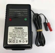 YUASA YCP03A12EU 300mA 12 voltios SLA Cargador de batería con adaptador de Reino Unido a Europa