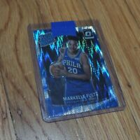2017-18 Markelle Fultz Rated Rookie Card Panini Optic Shock Prizm Holo 76ers 200