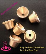 Brass cone piece Regular Set of 6 Fast and Free Post