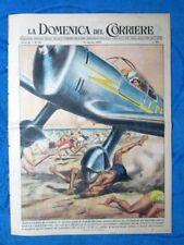 La Domenica del Corriere 14 agosto 1949 Castel Fusano - Aga Khan - Alpini