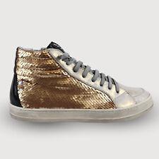 P448 Sneaker High-Top Sneaker - E9 SkatePaillettes Gr. 36 - 41 NEU