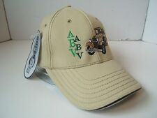 Aurora Borealis Ventures ABV Beige Hat 1927 Chev L/XL Fitted Baseball Cap