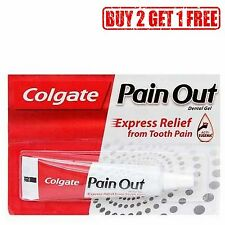 Colgate Pain OUT Dental Gel 10 gm Express Relief Tooth Pain Buy 2 Get 1 Free